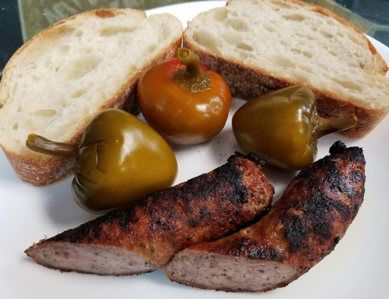 Sausage and Peppers Appetizer