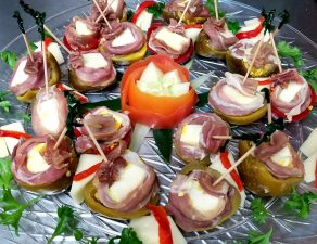 Prosciutto Stuffed Pepper Appetizer