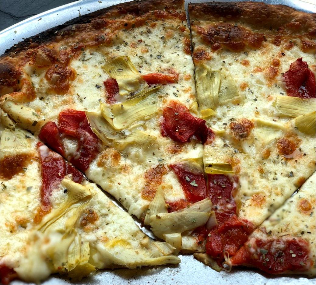 artichoke Tomato Pizza